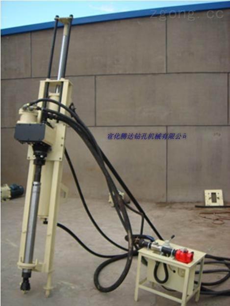 广西QZJ100B露天潜孔钻机全风动潜孔钻机
