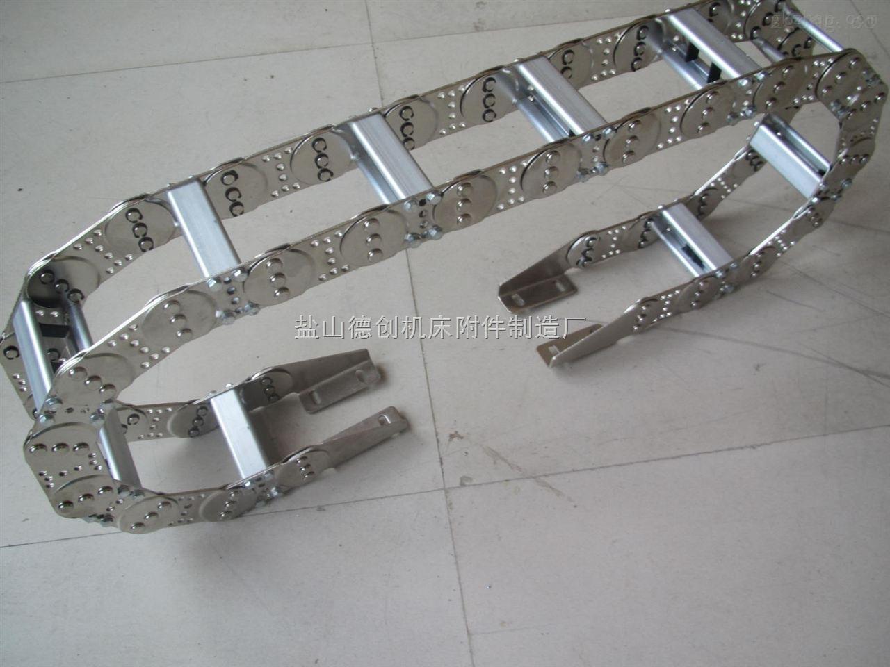 冶炼设备油管穿线钢制拖链生产厂家