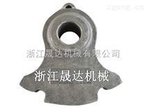 專業打造高鉻耐磨錘頭合金鋼復合錘頭高錳鋼金屬破碎機錘頭破碎機耐磨配件