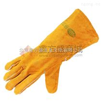 赫力斯(HELISE)全皮手套34cm(白里布)