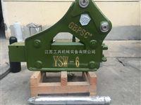 甘肃破碎锤销售YSW-6新型工兵破碎锤/炮头机